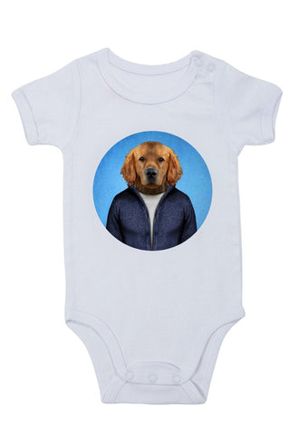 dog - retriever baby grow
