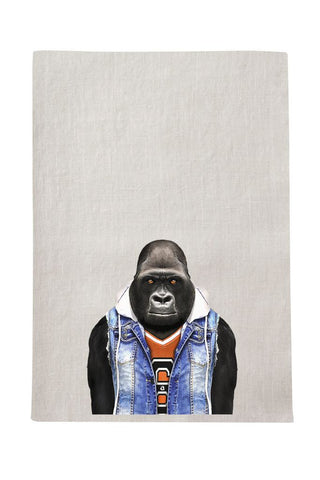 Gorilla Tea Towel
