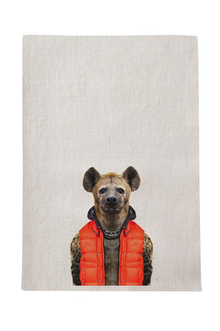Hyena Tea Towel