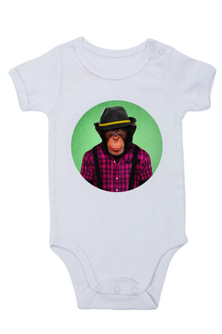 male monkey - baby grow
