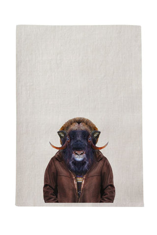 Ox Tea Towel