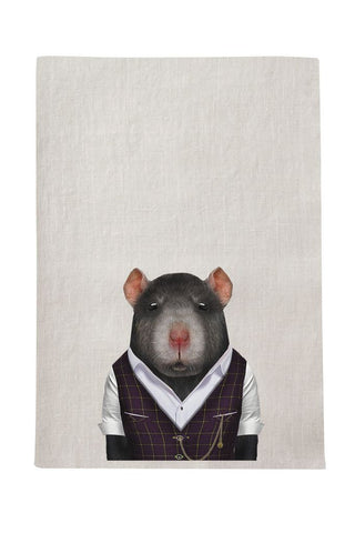 Rat Tea Towel