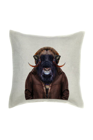 Ox Cushion Cover - Linen