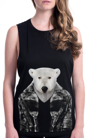 Women's Polar Bear Tank