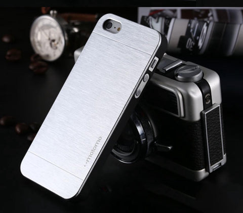 Iphone 6/6s Plus Aluminijast etui - Srebrn