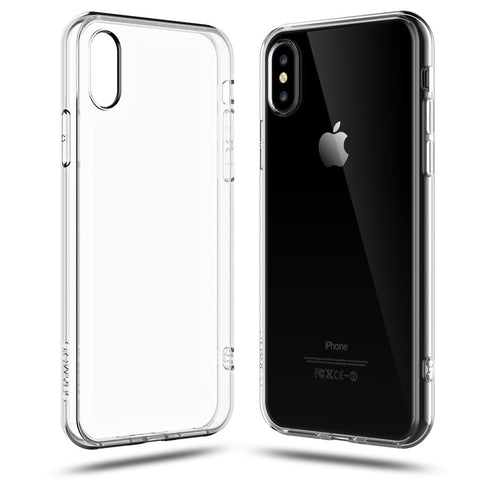 Prozoren silikonski ovitek - Apple iPhone X / XS