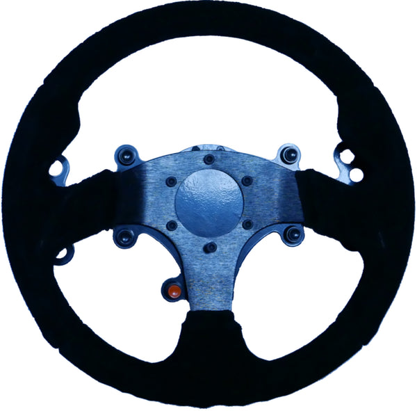 320mm Steering Wheel with Button Plate and Paddle Shifters