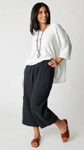 Bryn Walker Casbah Pant in Double Cotton