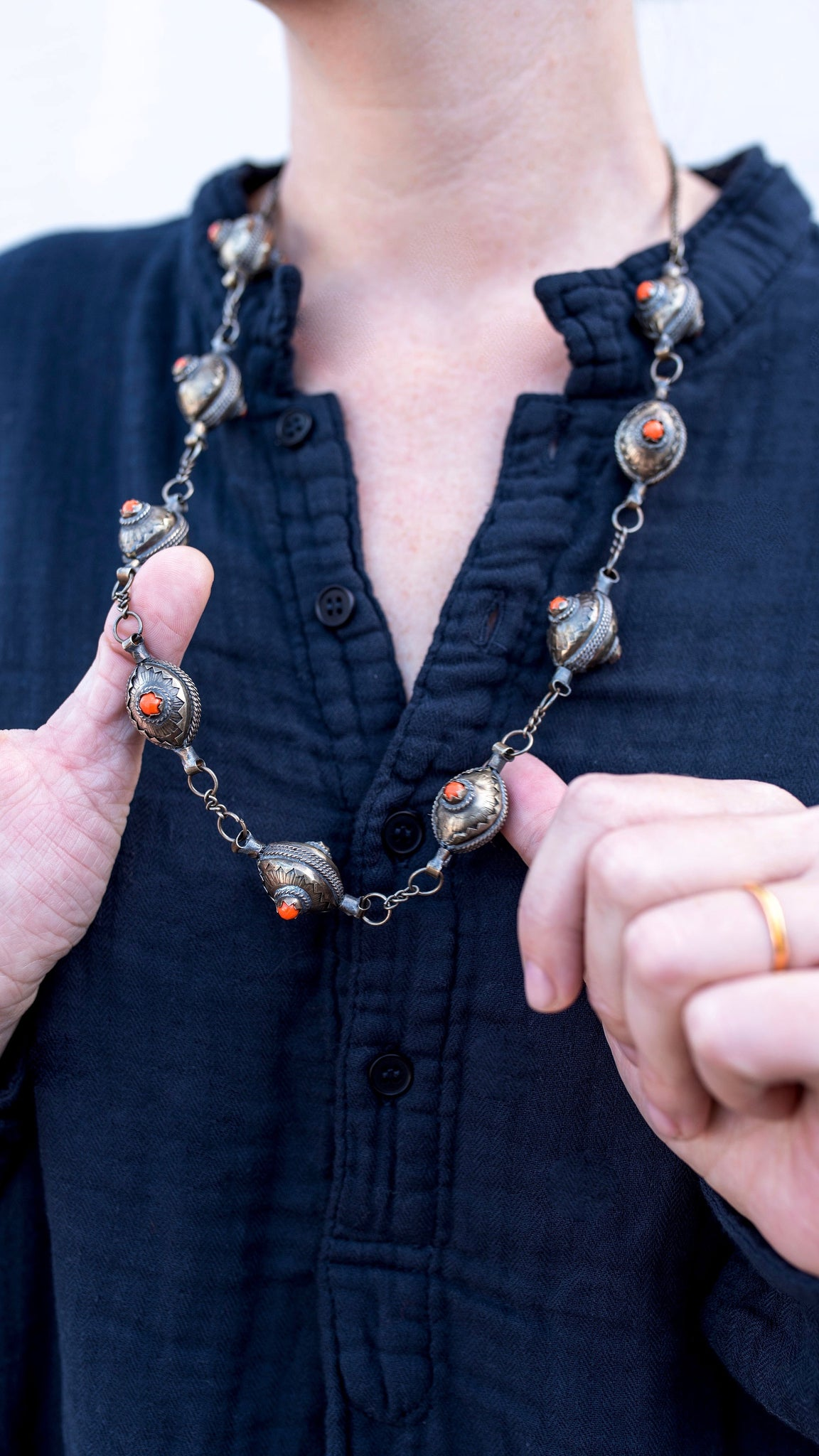 Formal Berber Necklace