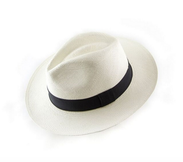 Authentic Panama Wide Brimmed Straw Hat