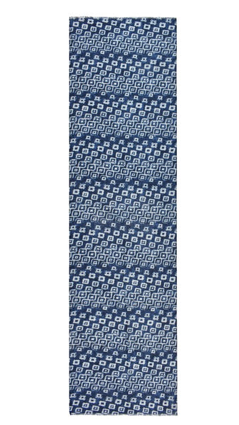 Indigo Print Cotton Scarf
