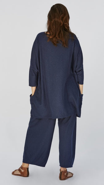 Spring One Size Two Pocket Tunic- TAOS