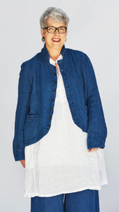 CP Shades Dree Linen Relaxed Jacket
