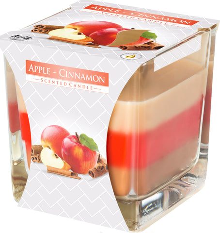 Apple Cinnamon 3 Colours Candle
