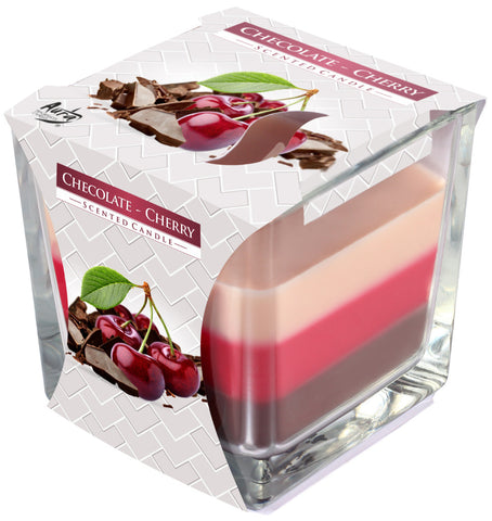 Chocolate - Cherry 3 Colours Candle