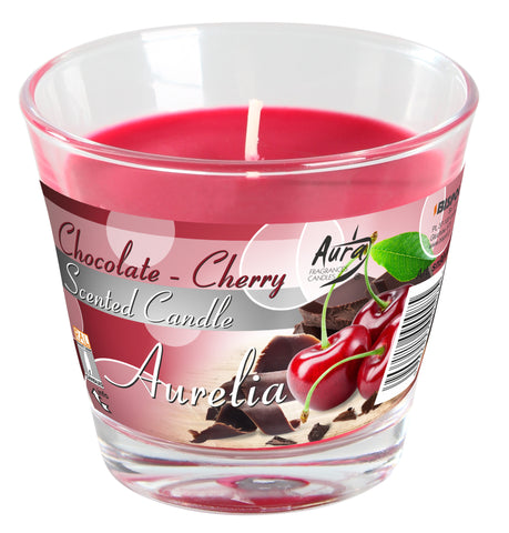 Scented Candles in Glass Aurelia