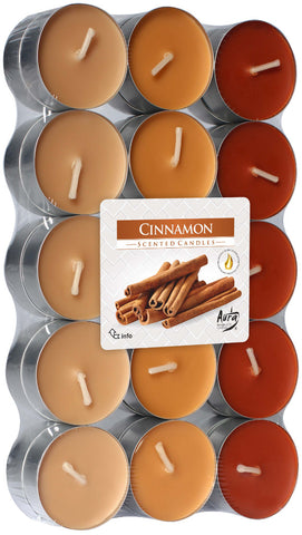 Cinnamon Tea Lights 30 Pack