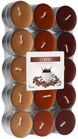 Coffee Tea Lights 30 Pack