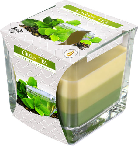 Green Tea 3 Colours Candle