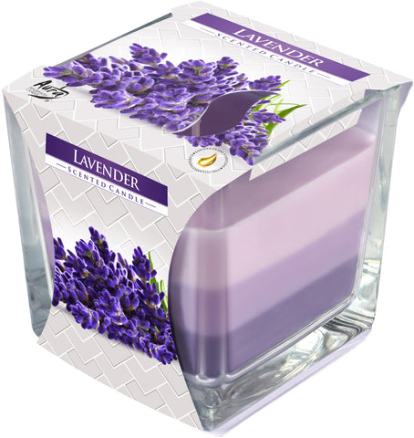 Lavender 3 Colours Candle