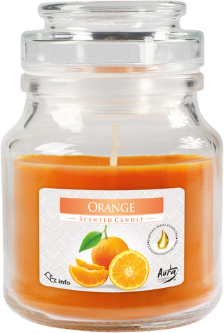 Orange Jar Candle