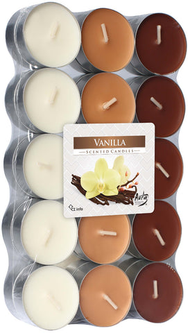 Vanilla Tea Lights 30 Pack