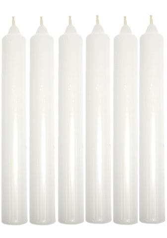 Household Candles 6 Pack
