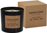 Wooden wick Scented Candles