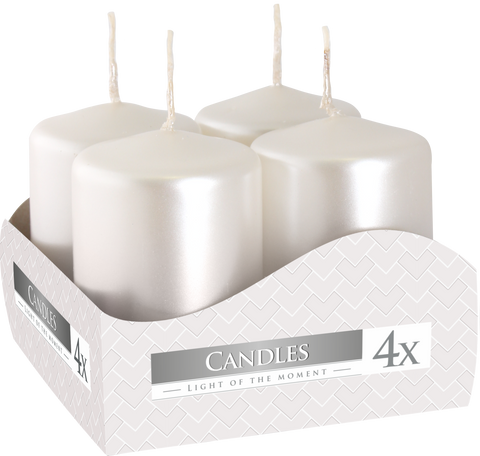 Votive Candles White Pearl