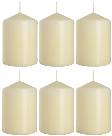 Pillar Candles 70/100 set of 6