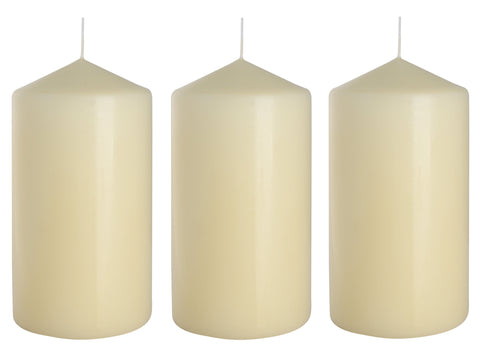 Pillar Candles 80/150 set of 3