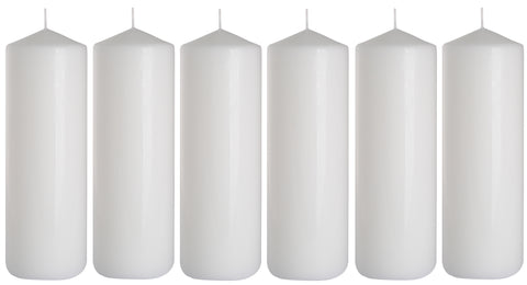 Pillar Candles 80/200 set of 6