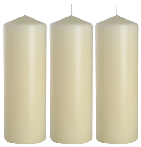 Pillar Candles 80/250 set of 3