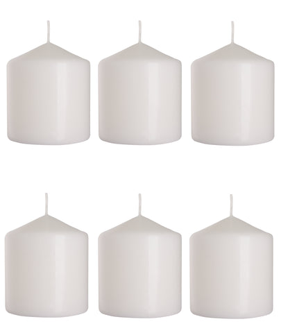 Pillar Candles 80/90 set of 6