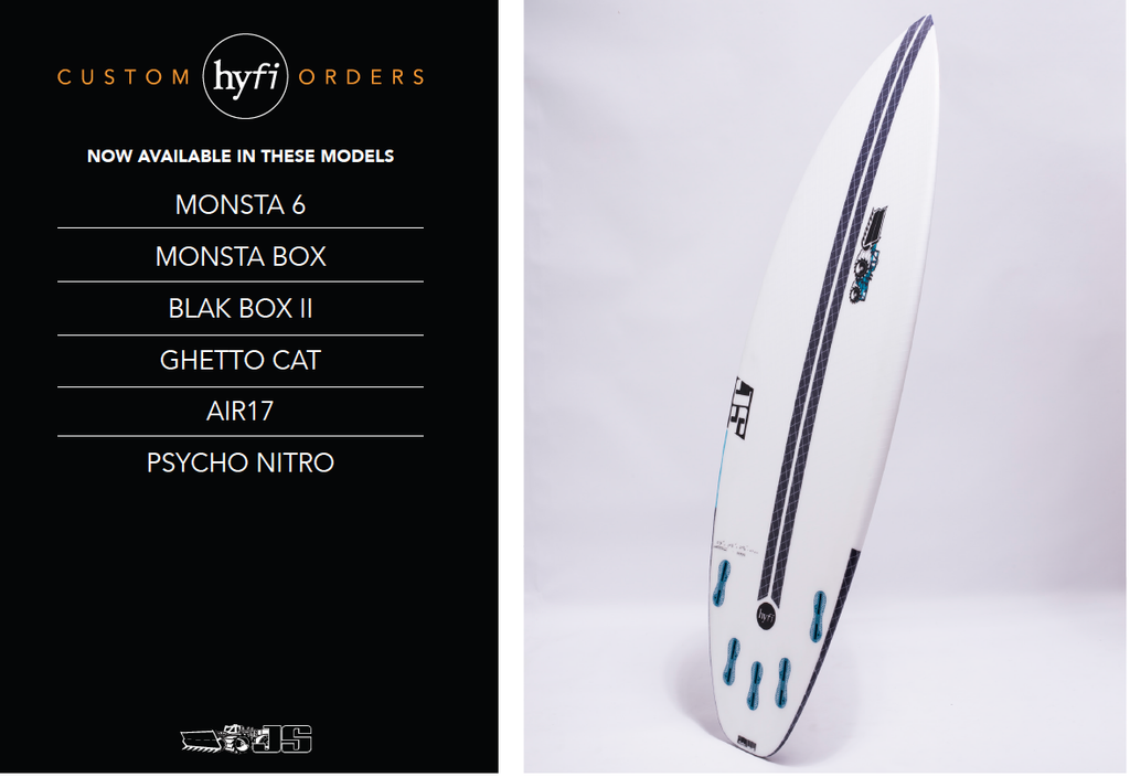JS Surfboards new models available in HYFI