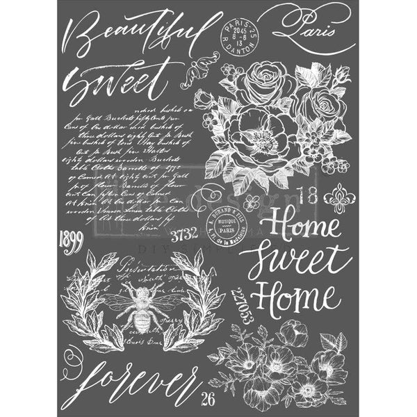 Beautiful Home - Prima ReDesign Decor Transfer - Renaissance Lady - Connie S. Hill