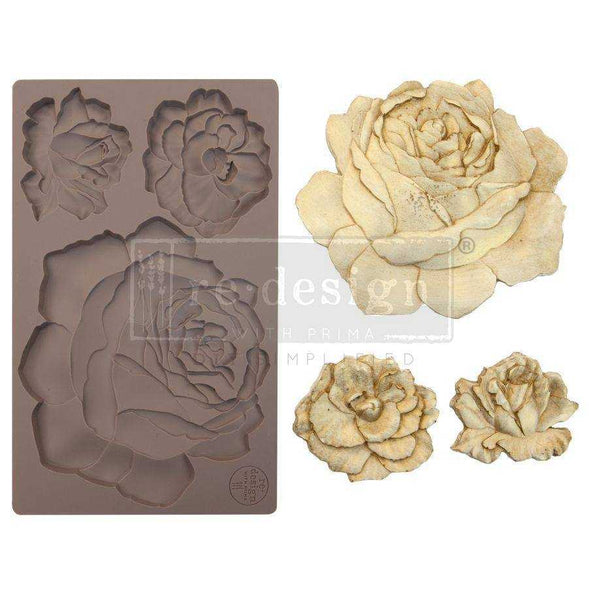 Etruscan Rose - Prima ReDesign Mould - Renaissance Lady - Connie S. Hill