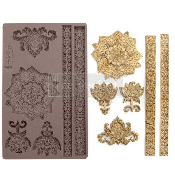 Agadir Patterns - Prima ReDesign Mould - Renaissance Lady - Connie S. Hill