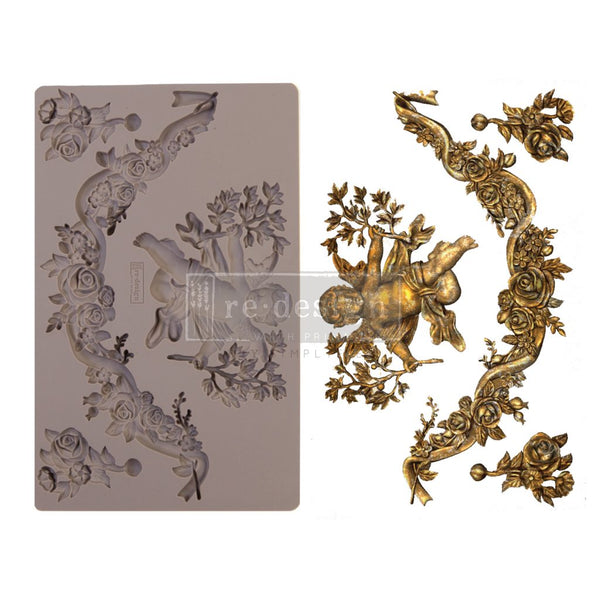 Divine Floral - Prima ReDesign Mould - Renaissance Lady - Connie S. Hill
