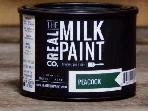 40 Peacock Real Milk Paint