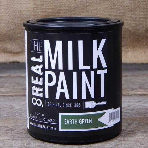 47 Earth Green Real Milk Paint
