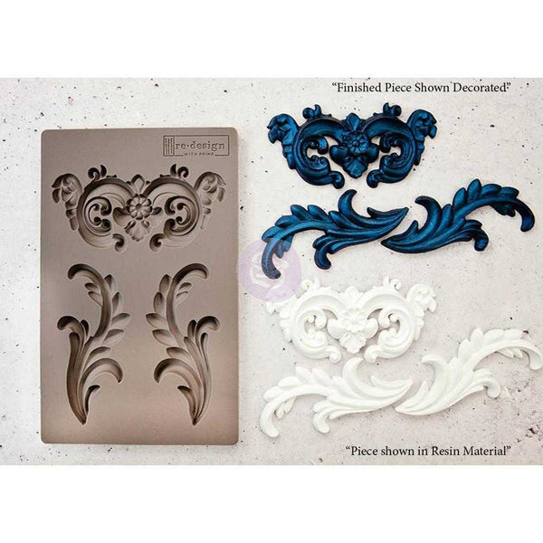 Everleigh Flourish- Prima Redesign Mould - Renaissance Lady - Connie S. Hill