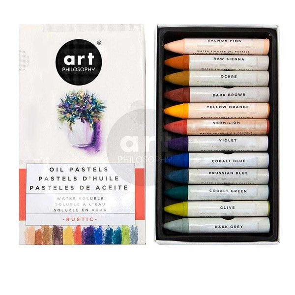 Art Philosophy - NEW Water soluble Oil Pastels in Rustic - Prima ReDesignn
