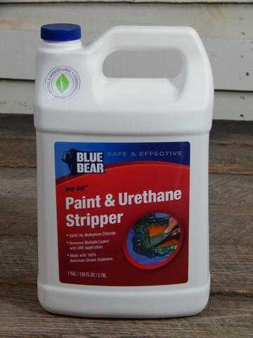 Soy Gel Paint Stripper Varnish and Urethane Remover
