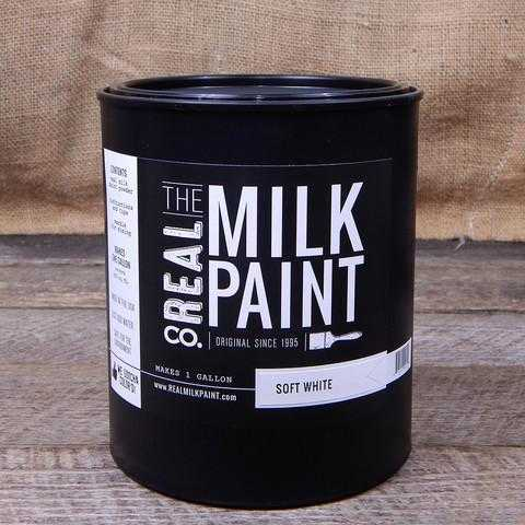 01 Soft White Real Milk Paint