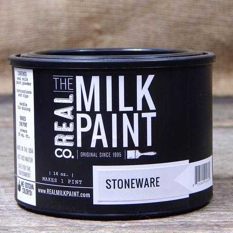 03 Stoneware Real Milk Paint