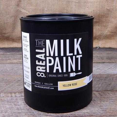 10 Yellow Rose Real Milk Paint