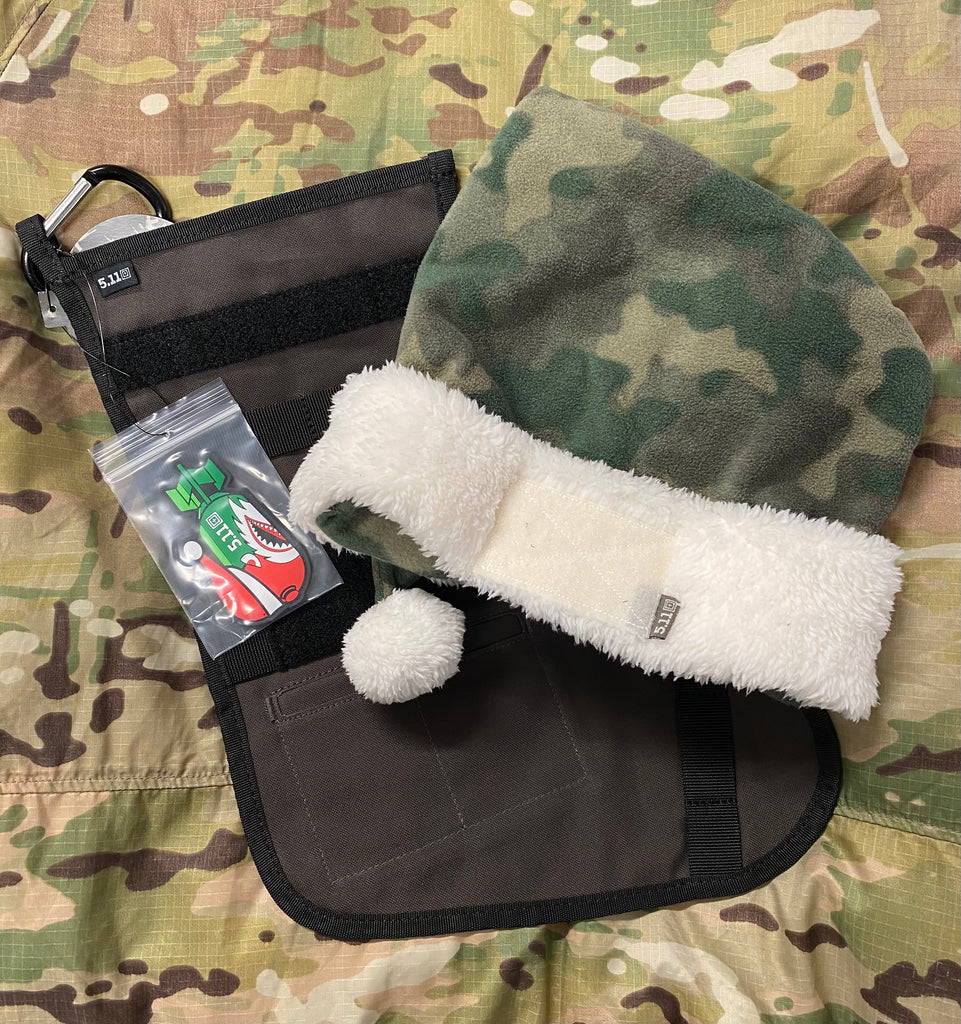 5.11 Tactical Christmas Stocking with FREE Hat