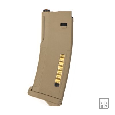PTS EPM Magazine for Marui Next Gen Recoil Shock Tan