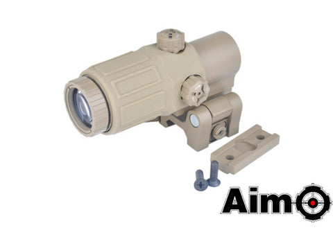 Element AIM O G33 Magnifier x3 Tan